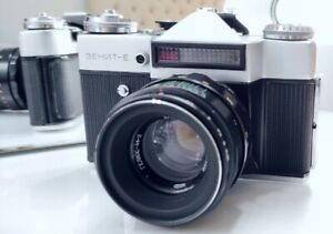 Zenit E Vintage Russian 1970 Slr Camera