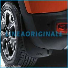 Coppia Paraspruzzi posteriori ORIGINALI Jeep Renegade paraschizzi nero K82214127
