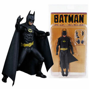 "NECA Batman Michael Keaton 1989 25TH Anniversary Classical 7"" Action Figure MISB"