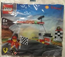 LEGO 40194 Shell and Ferrari Finish Line & Podium - New Unopened Free Post