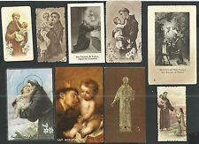 9 Estampas de San Antonio de Padua andachtsbild santino holy card