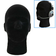 Male Styrofoam Foam Mannequin Manikin Head Model Glasses Cap Wig Display Stand