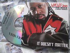Wyclef Jean Feat. The Rock & Melky It Doesn't Matter XPCD 1280 UK Promo CDSingle