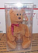 "TY BEANIE BABY ""CURLY"" BEAR  RETIRED WITH TAG ERRORS RARE"