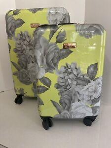"2-Pcs Jessica Simpson Hardside Spinner SuitcaseLuggage Set (20"" & 25"")"