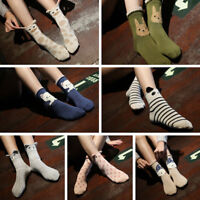 Women Winter Autumn Korean Cartoon Animals Cotton Warm Socks Cute