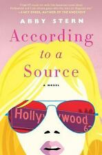 According to a Source : A Novel by Abby Stern (2017, Hardcover)