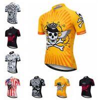 Men Cycling Jersey Team Bike Clothing Short Sleeve Bicycle T-Shirt Sport Tops
