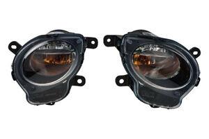 12-17 FIAT 500 BLACK FRONT RIGHT & LEFT DIRECTIONAL TURN SIGNAL PARK LIGHT OEM