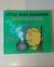 Little Miss Sunshine and the Wicked Witch by Roger Hargreaves with added sparkle