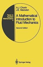 A mathematical introduction to fluid mechanics, Second Edition (Texts-ExLibrary