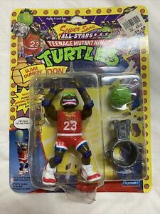 Vintage TMNT MOC Slam Dunkin Don Sewer Sports All Stars Playmates 1991 Vintage