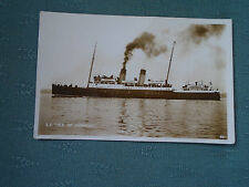 VINTAGE SS ISLE OF GUERNSEY - RP SHIPPING POSTCARD
