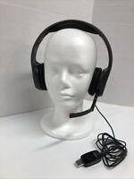 Plantronics .Audio 655 DSP Black Headband USB Headset Gaming Skype Music