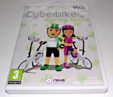 Cyberbike Cycling Sports Nintendo Wii PAL *Complete* Wii U Compatible