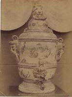 Musée de Cluny Paris France Objet d'Art Photo Albumine ca 1880