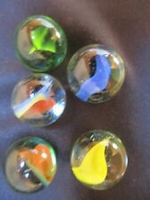 Vintage glass marbles  - 1950's