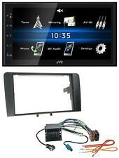 JVC 2din Bluetooth mp3 aux USB autoradio para audi a3 03-12 8p Quadlock