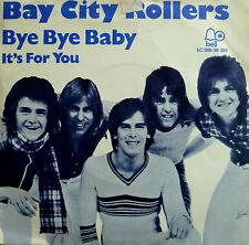 "7"" 1974 NL-PRESS IN VG++! BAY CITY ROLLERS Bye Bye Baby"