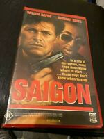 Saigon off-limits VHS HTF on DVD Willem Dafoe Gregory Hines Vietnam War Action
