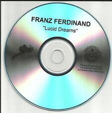 FRANZ FERDINAND Lucid Dreams 2008 rare TST PRESS PROMO Radio DJ CD Single USA