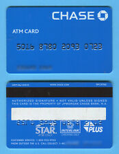 CHASE BANK: Expired CHASE ATM CARD debit Magnetic strip