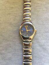 LTD Dark Blue Dial Silver Tone Ladies Quartz Watch