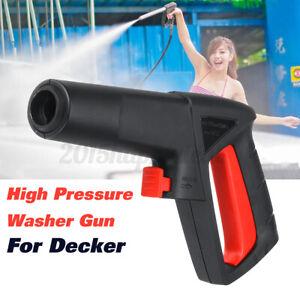 Car 120Bar High Pressure Washer Spray Gun Jet Trigger For Decker 50991