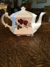Wood & Sons ELLGREAVE Roses Teapot — Excellent