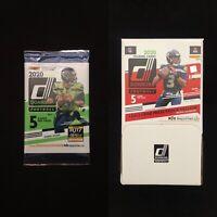 2020 DONRUSS Football Pack-1 Yellow Press Proof & 1-2 RCs🔥Pos Joe Burrow Rookie