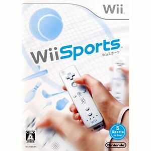 Wii Sports - Nintendo Wii -2006- [Japanese Wii Only]