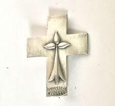 Ancienne Épinglette  Croix Et Hermine Bretonne Diocèse De Vannes Bretagne