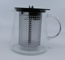 Riensch & Held Finum Modern Glass Coffee Tea Pot Handle Plastic Filters Germany