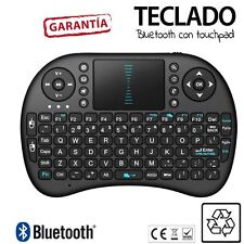 Teclado RII I8 con Touchpad Bluetooth para rasberry Pi, smart Tv, kodi en NEGRO