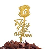 Tale As Old As Time Cake Topper Beauty And the Beast Birthday Party Food Safe