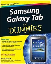 Samsung Galaxy Tab For Dummies Gookin, Dan Paperback