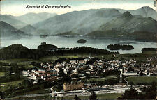 Keswick England Cumbria ~1910 Nationalpark Lake District Panorama Derwentwater