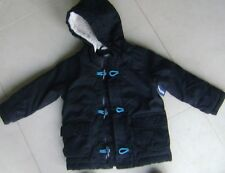 'Old Navy' Boys Hooded Cotton Padded Duffel Coat - 3 Years - New