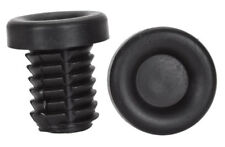 ROAD OR MOUNTAIN BICYCLE BIKE RUBBER HANDLEBAR END PLUGS PAIR NEW