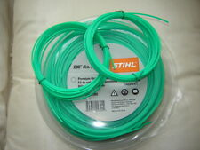 2 X 5MTR X 2.mm OF GENUINE STIHL STRIMMER CORD /  LINE FOR FLYMO  STRIMMERS
