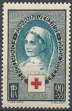 FRANCE CROIX ROUGE RED CROSS N°422 NEUF ** LUXE GOMME D'ORIGINE MNH COTE 17€