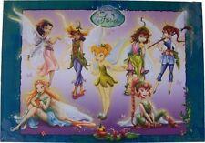 Disney Feen Gruppe Tun Mini Poster 50 X 35