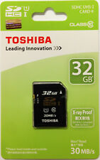 Toshiba Ultra 32GB SD SDHC Class 10 30MB/s 200X UHS-I Memory Card SD-K032GR7AR30