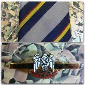 Royal Scots Greys (Stripe) Tie & Tie Bar Set