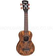 Vintage LAKA VUS75 Soprano Acoustic Ukulele - Satin Butterfly Wood - Brand New