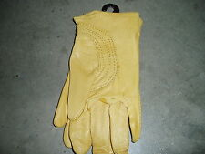Soft Leather Work Gloves Size Small S  -Tuff Mate