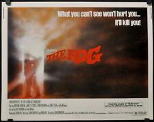 THE FOG 1980 ORIG 22X28 MOVIE POSTER JAMIE LEE CURTIS JANE LEIGH JOHN CARPENTER