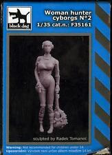 Blackdog Models 1/35 CYBORG WOMAN HUNTER Resin Figure #2
