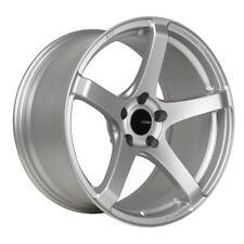 17x8/9 Enkei KOJIN 5x114.3 +45 Silver Rims Fits Honda S2000