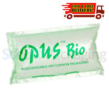 More details for 600 pre-inflated air pillows biodegradable cushions void loose fill 100x200mm